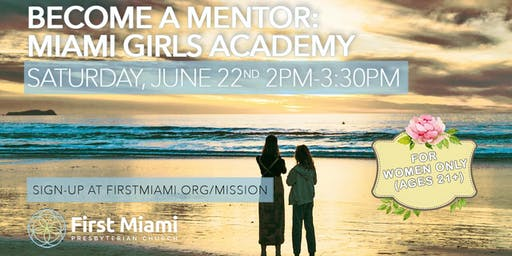 Become a Mentor at Miami Girls Academy