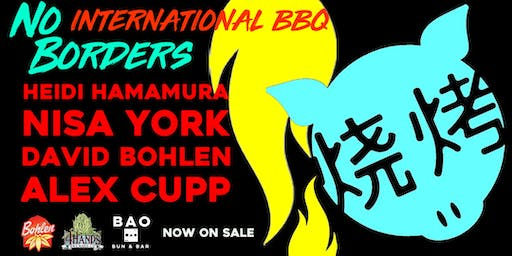 No Borders Dinner Series: International Barbecue