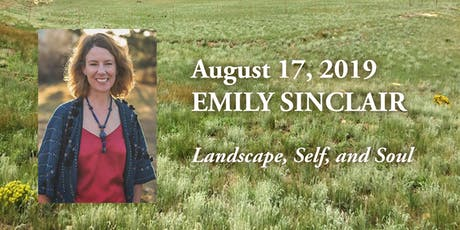 Landscape, Self, and Soul with author Emily Sinclair tickets