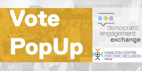 Vote PopUp #HamOnt (2/2) tickets