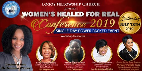 Women's Healed For Real Conference 2019 tickets