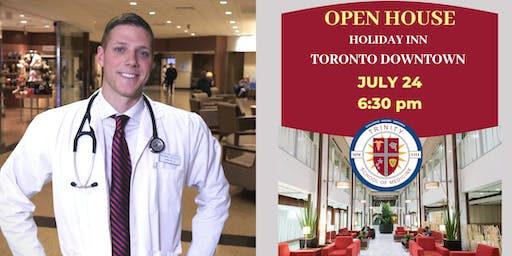 Trinity School of Medicine Open House Toronto, July 2019