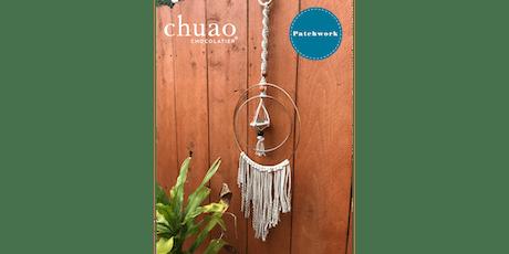 Patchwork + Chuao Chocolatier  - Macrame Air Plant Hanger Craft Workshop tickets