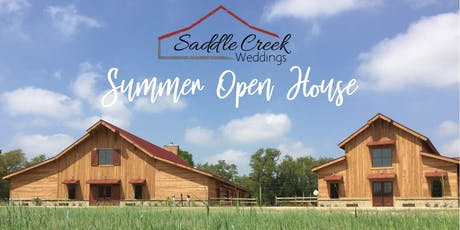 Saddle Creek Wedding Summer Open House 2019 tickets