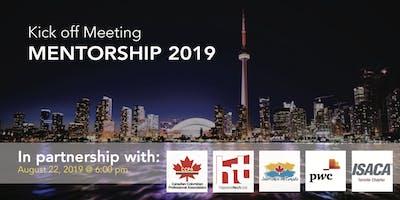 Summer / Fall 2019 Mentorship Program