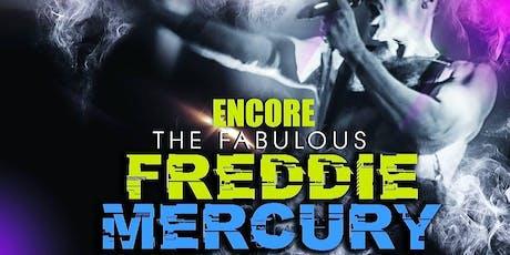 Encore! The Fabulous Freddie Mercury Tribute Show tickets
