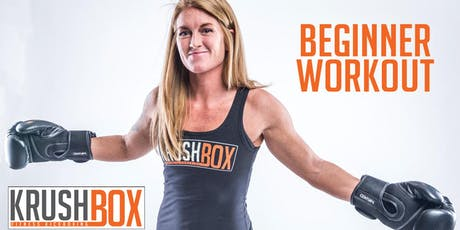FREE KrushBox Beginner Kickboxing Workout tickets