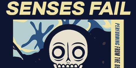 SENSES FAIL tickets