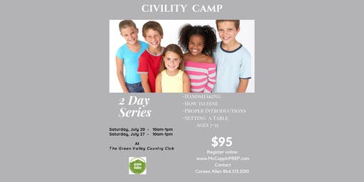 Civility/Manners Camp