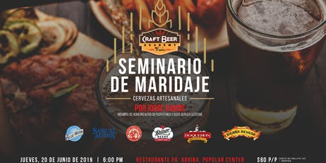 Seminario de Maridaje - Craft Beer Academy by V. Suárez tickets