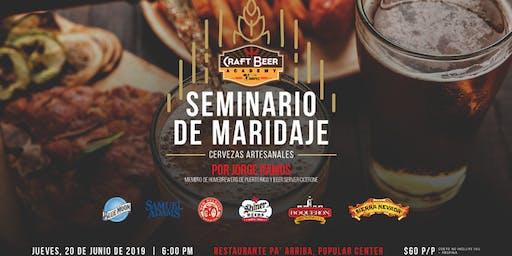 Seminario de Maridaje - Craft Beer Academy by V. Suárez