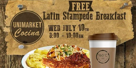 Latin Stampede Breakfast / Free tickets