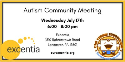 Autism Community Meeting - July