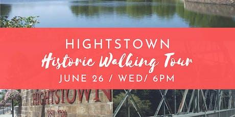 Hightstown Historic Walking Tour - June 26 tickets