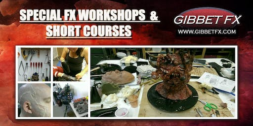 SFX WORKSHOP: INTRO TO HORROR & GORE MAKEUP FX