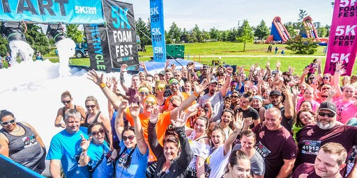 THE 5K FOAM FEST VANCOUVER, BC May 30, 2020