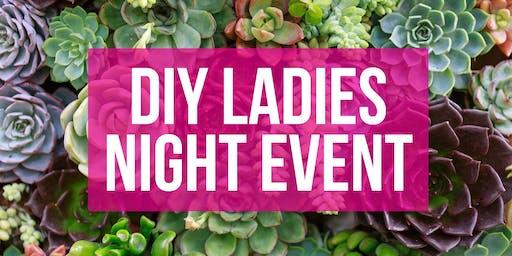 DIY Ladies Night Event: Succulent Gardening