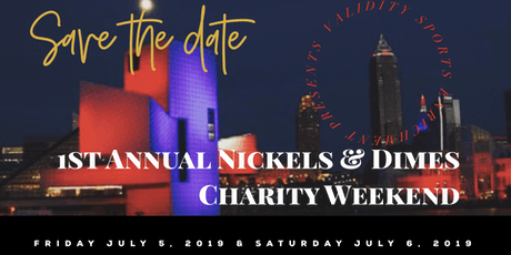 1st annual Nickels & Dimes Charity Weekend tickets