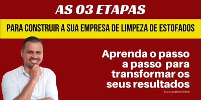 CURSO PRÁTICO DE LIMPEZA DE ESTOFADOS 2.0