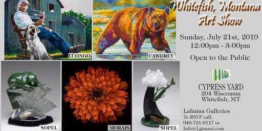 Cypress Yard Art Show With Lahaina Galleries