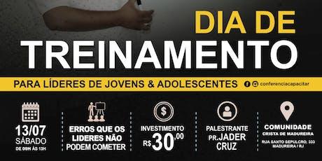Dia de Treinamento para lideres de jovens e adolescentes - Madureira ingressos