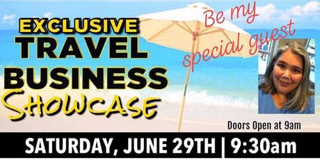 FREE Exclusive Travel Business Showcase - Become a Business Owner!  tickets