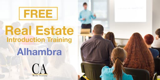 Free Real Estate Intro Session - Alhambra (Mon.)