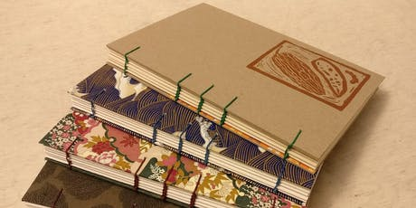 Coptic Bookbinding with Chanel Ly - July 7 tickets