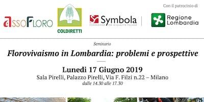 Florovivaismo in Lombardia: problemi e prospettive