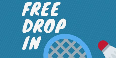 FREE Badminton Drop In tickets