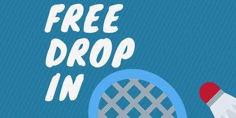 FREE Badminton Drop In tickets