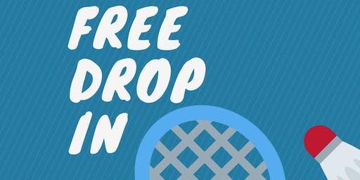 FREE Badminton Drop In