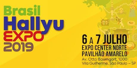 Brasil Hallyu Expo 2019 - Um novo começo. Aproveite a Hallyu! bilhetes