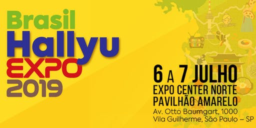 Brasil Hallyu Expo 2019 - Um novo começo. Aproveite a Hallyu!