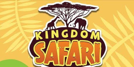 Kingdom Safari Vacation Bible School tickets