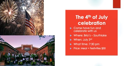 Independence Day Celebration - JULY 3rd  tickets