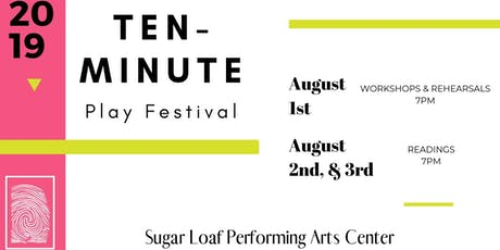 Ten-Minute Play Festival tickets