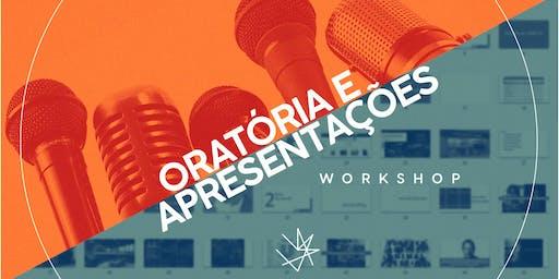 Workshop Gratuito de Oratória e Apresentações | 24/ago