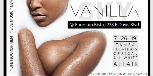 Vanilla Skies VIP SECTION: The Upscale, Grown & Classy All White Affair