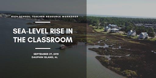 Sea-Level Rise in the Classroom: A Teacher Resource Workshop in Alabama