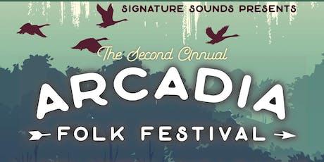 Arcadia Folk Festival 2019 tickets