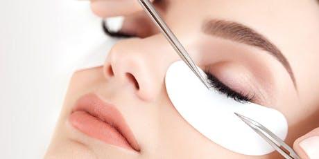 Eyelash extensions training tickets