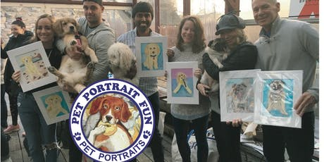 Sip and Paint a Pet Portrait-Dawgs All Day-Sat. June 29 tickets
