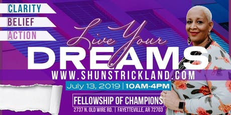 Live Your Dreams Fayetteville tickets