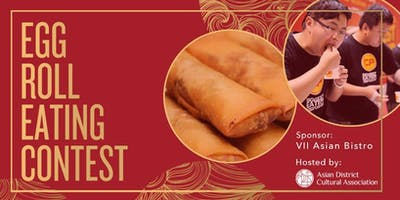 Egg Roll Eating Contest