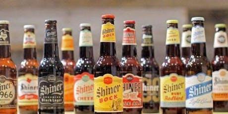 Shiner Bock Beer Pairing tickets