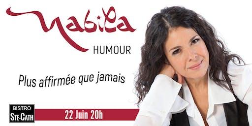 Nabila Ben Youssef, humour Plus affirmée que jamais