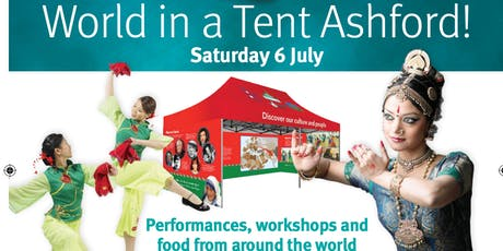 World in a Tent: Celebrate Ashford! tickets