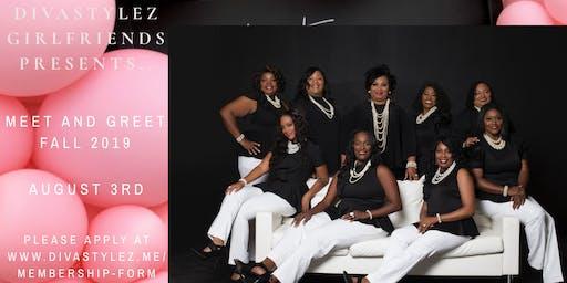DivaStylez Girlfriends Inc. 2019 Meet and Greet Fall Intake