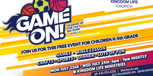 Kingdom Kids Presents: VBS 2019 ~ Game On!